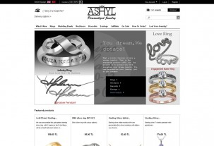 screenshot e-shop Ashyl e-shop na systému PrestaShop
